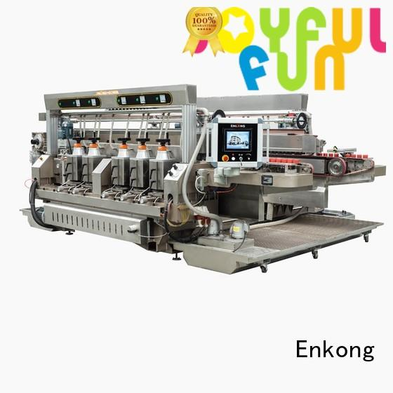 Hot glass double edger speed Enkong Brand