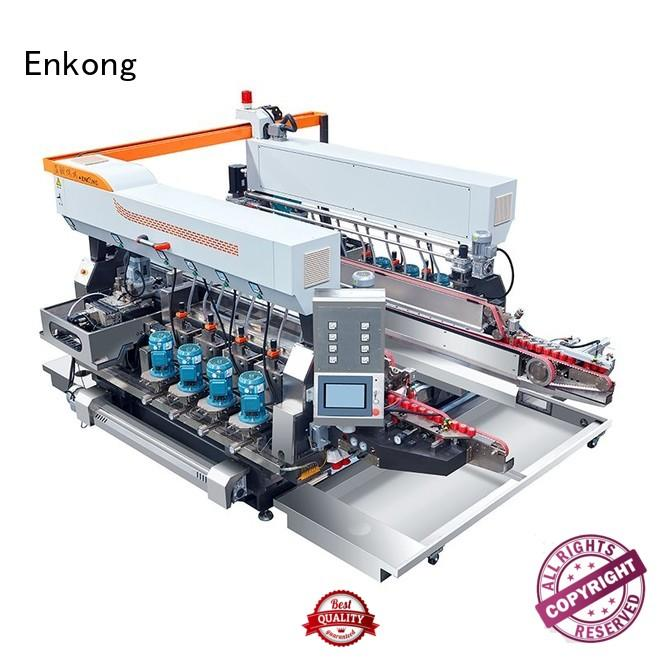glass Custom round machine double edger Enkong double