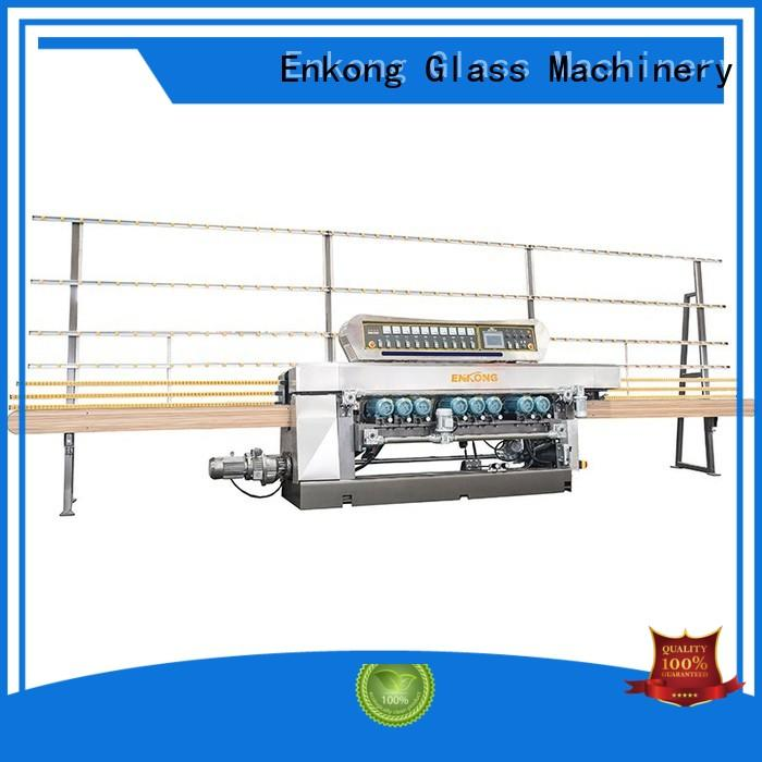Enkong real glass beveling machine series for glass processing