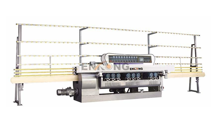 Enkong good price glass beveling machine for sale factory direct supply for glass processing-1