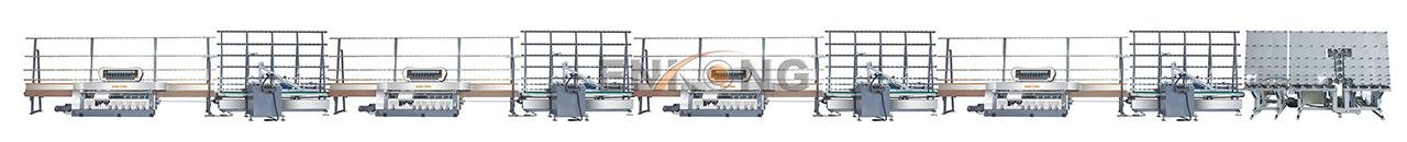 Enkong efficient glass edge polishing machine supplier for fine grinding-2