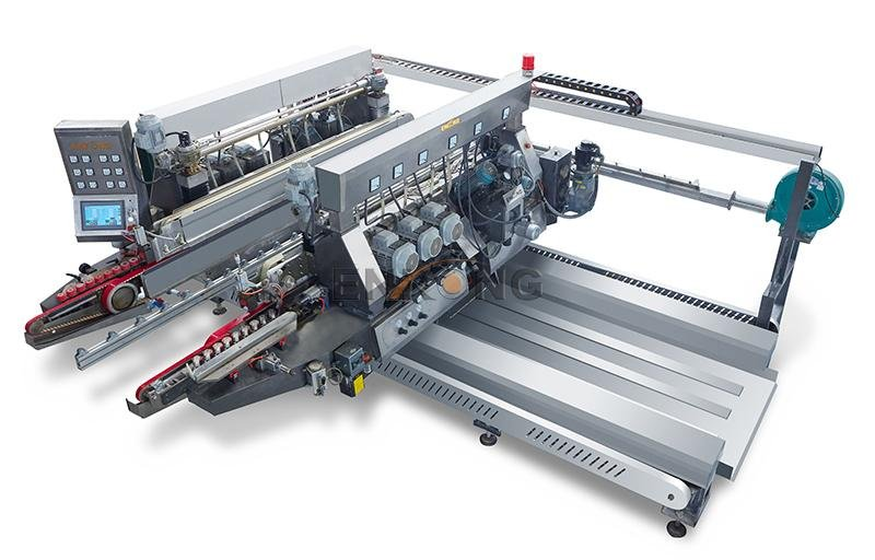 Top small glass edge polishing machine straight-line for business for photovoltaic panel processing-1