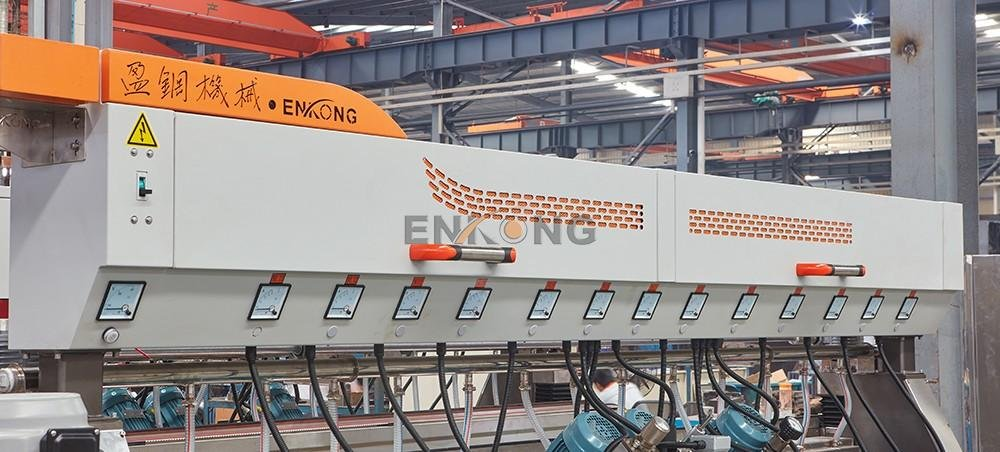 Enkong Custom automatic glass edge polishing machine company for photovoltaic panel processing-3