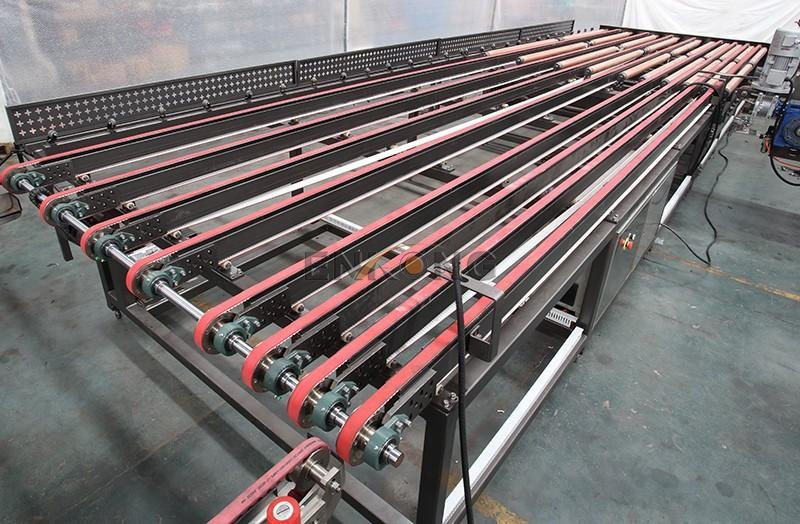 Enkong straight-line glass double edging machine manufacturer for round edge processing-3
