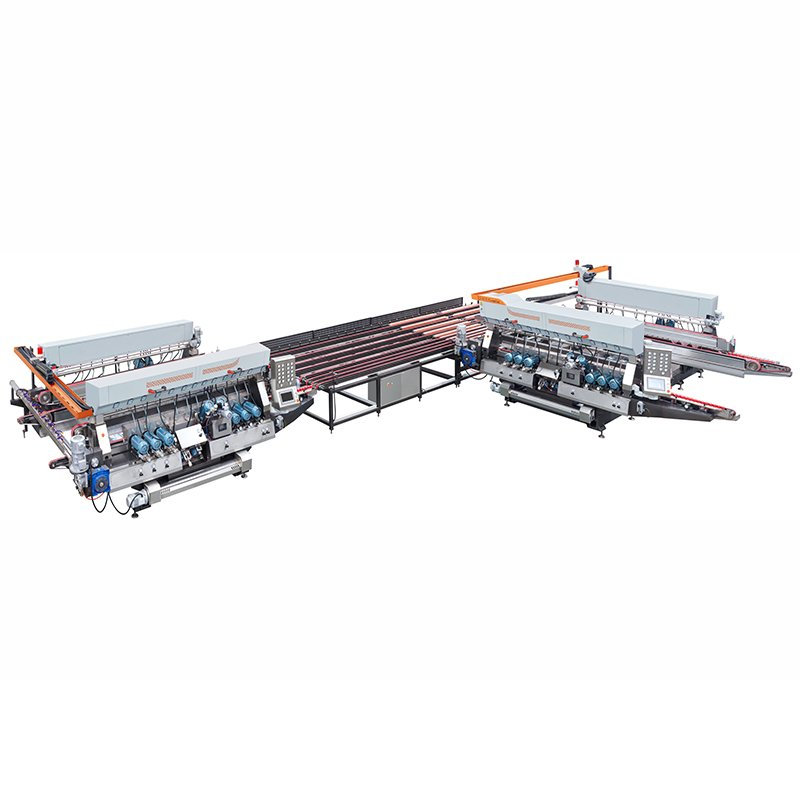 Enkong Double edging production line SM 20 GLASS DOUBLE EDGING MACHINE image3