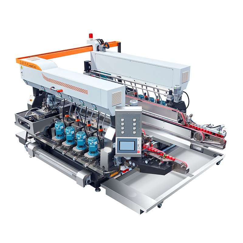 Enkong Glass straight-line double round edging machine SYM08 GLASS DOUBLE EDGING MACHINE image2