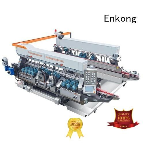 glass double edger speed round Enkong Brand company