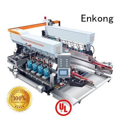 Hot machine glass double edger edging Enkong Brand