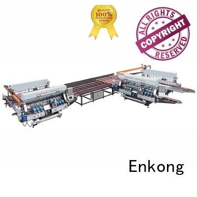 glass double production Enkong Brand glass double edger manufacture