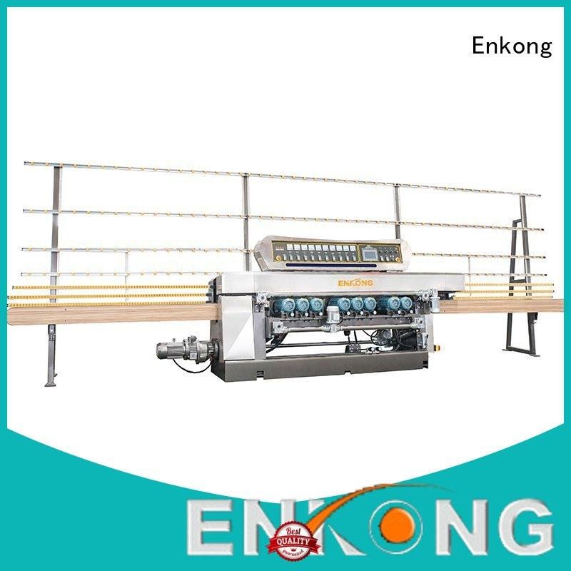 Enkong efficient glass beveling machine factory direct supply
