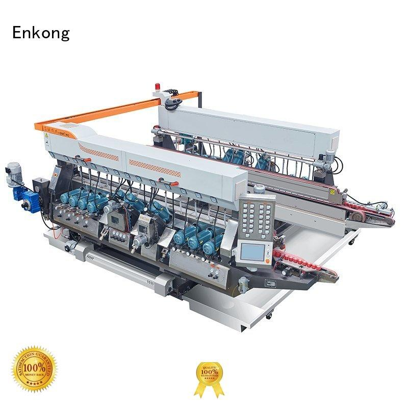 glass double edger round straight-line speed Warranty Enkong