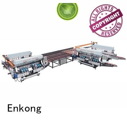 glass double edger machine straight-line Enkong Brand double edger