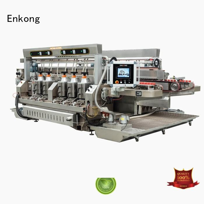 glass double edger machine line edging Warranty Enkong