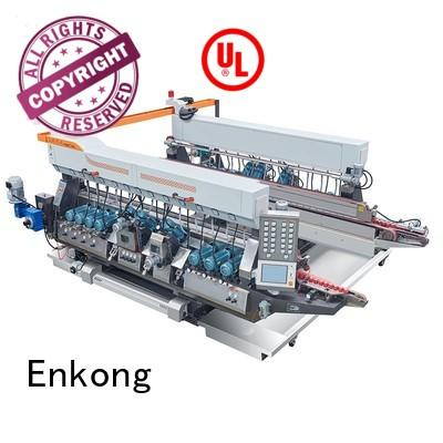 double production round double edger glass Enkong Brand