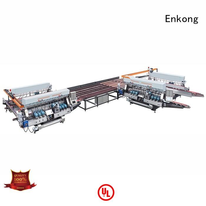 line straight-line Enkong Brand glass double edger factory