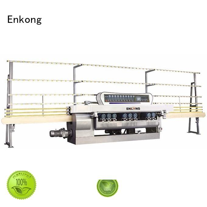 machine glass glass beveling machine straight-line Enkong company