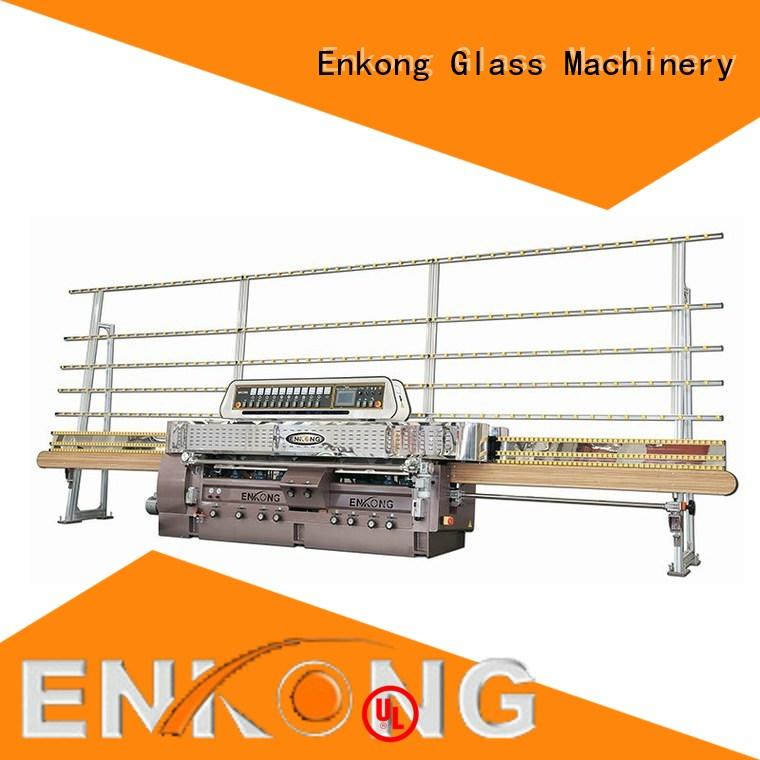 Enkong professional glass straight line edging machine wholesale for processing glass