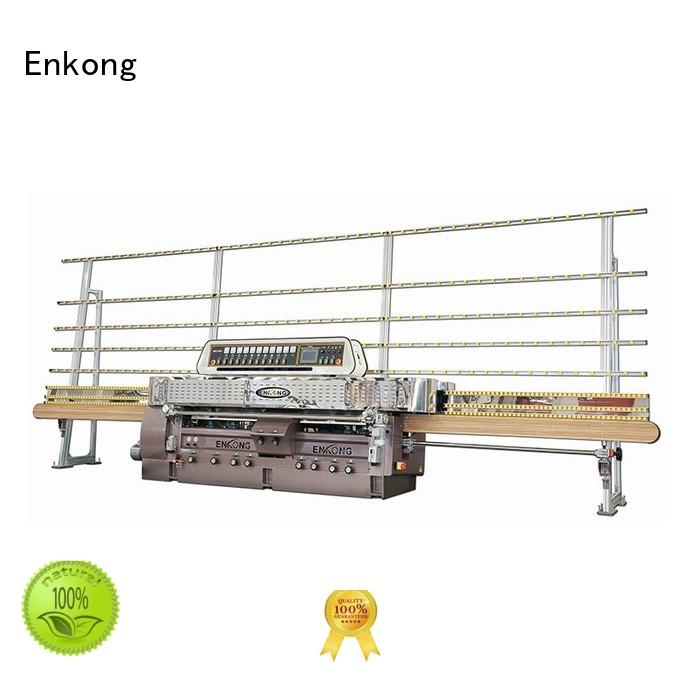 glass straight line edging machine edging straightline glass machinery Enkong Brand