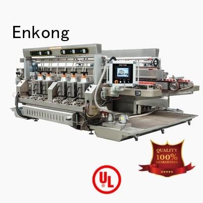 Quality Enkong Brand glass double edger straight-line