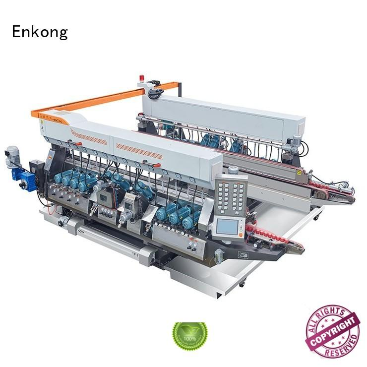 Enkong Brand machine speed edging glass double edger