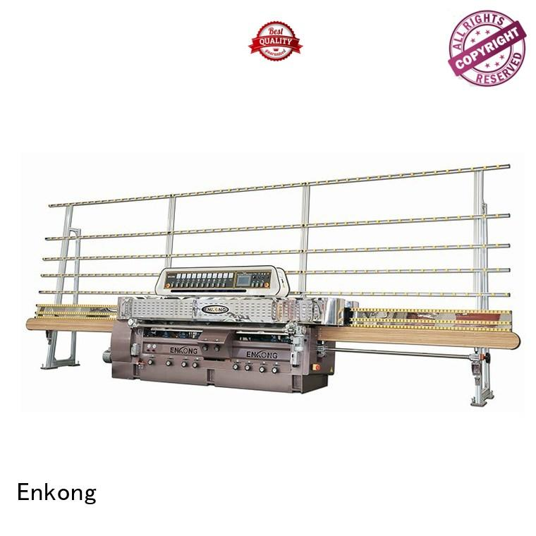 glass straight line edging machine edging straightline Enkong Brand glass machinery
