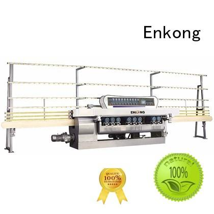 Enkong Brand straight line glass straight-line glass beveling equipment beveling