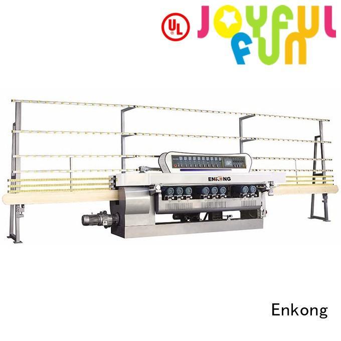 glass beveling equipment glass straight line machine Enkong Brand glass beveling machine