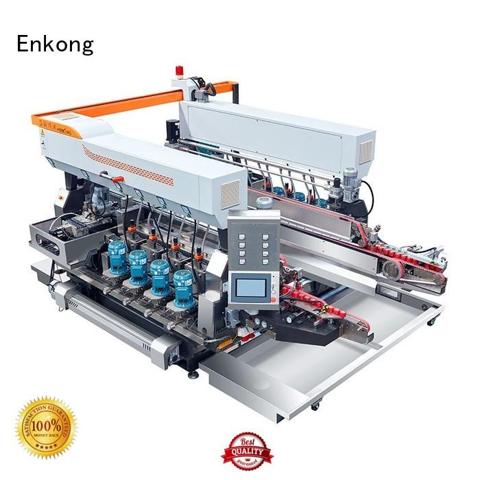 Hot straight-line double edger glass round Enkong Brand