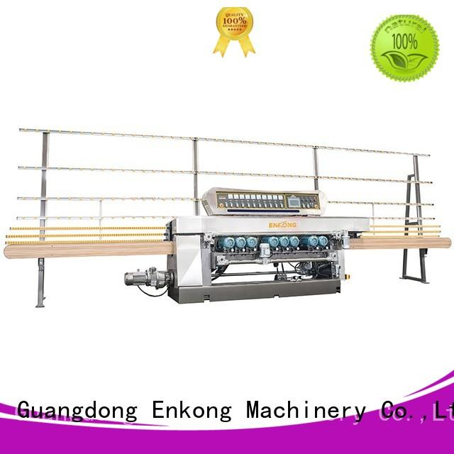 Enkong xm363a glass beveling machine for sale factory direct supply for glass processing