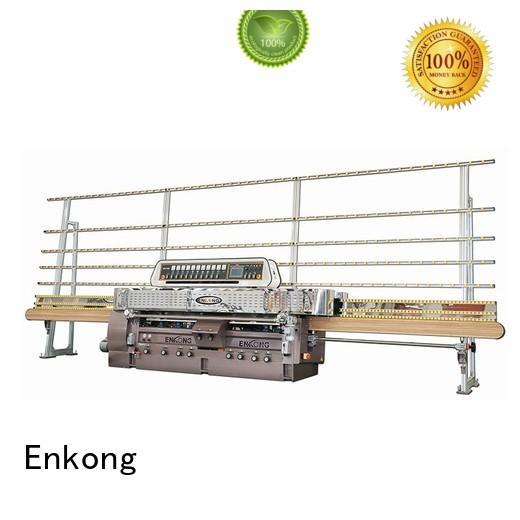 Custom straightline edging glass machinery Enkong machine