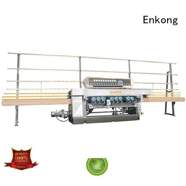 glass beveling equipment straight line glass machine Warranty Enkong