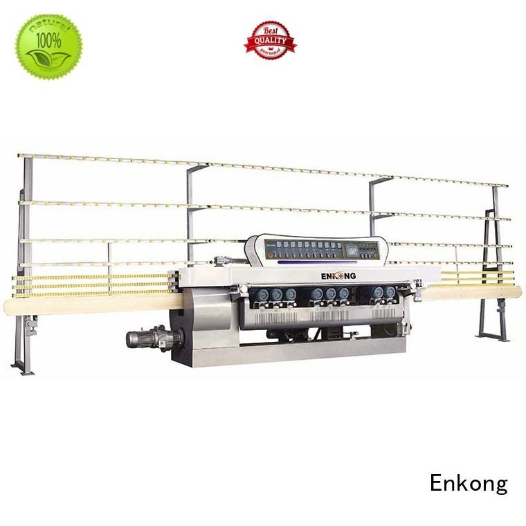 glass beveling equipment straight-line straight line glass Enkong Brand glass beveling machine
