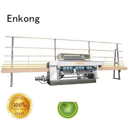 Hot straight line glass beveling machine beveling glass Enkong Brand