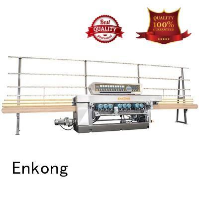 Enkong Brand straight line machine glass beveling equipment