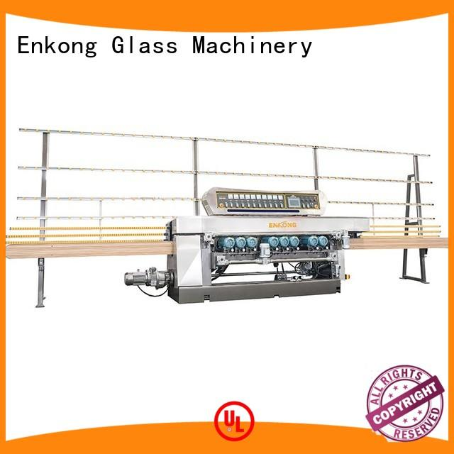 Enkong real glass beveling machine manufacturer for polishing