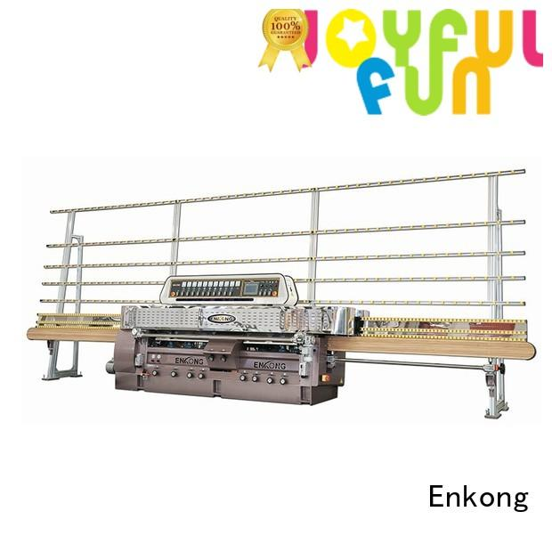 straightline edging glass straight line edging machine Enkong manufacture