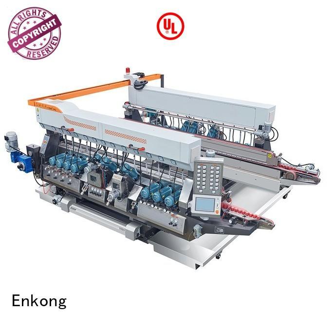 glass double edger machine double double edger round Enkong Brand