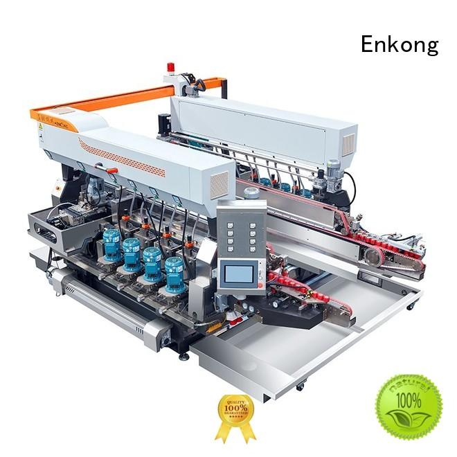 Hot straight-line double edger round machine Enkong Brand