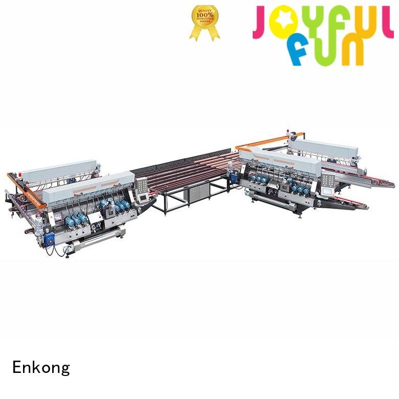 Enkong Brand double production double edger glass factory