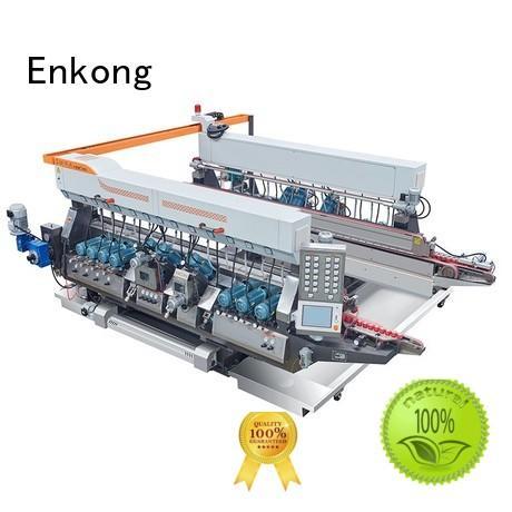 glass double edger line machine double Warranty Enkong