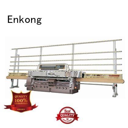 glass straight line edging machine edging machine Enkong Brand glass machinery
