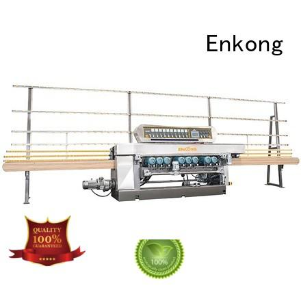 Quality Enkong Brand straight-line glass glass beveling machine