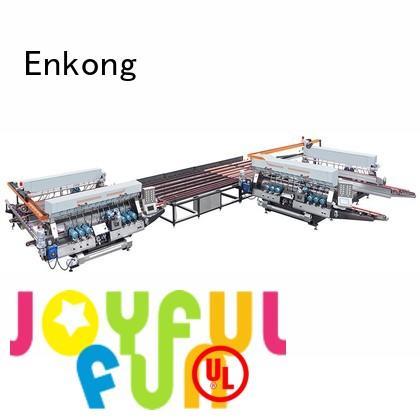 glass double edger speed machine Warranty Enkong