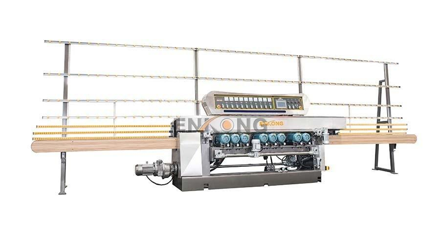 cost-effective glass beveling machine 10 spindles factory direct supply for glass processing-1