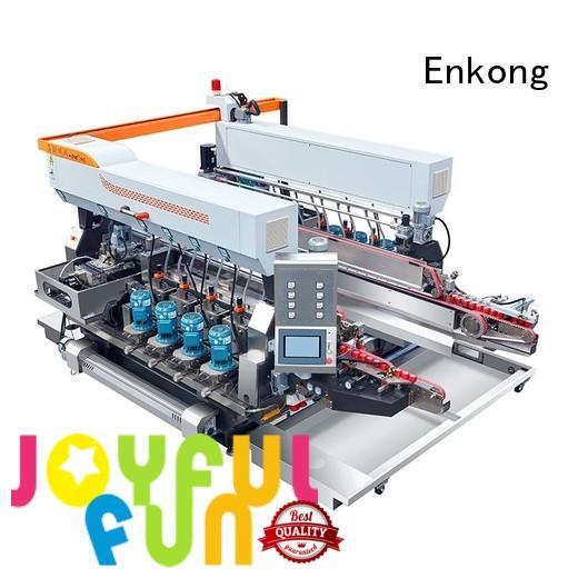 speed edging Enkong Brand glass double edger factory