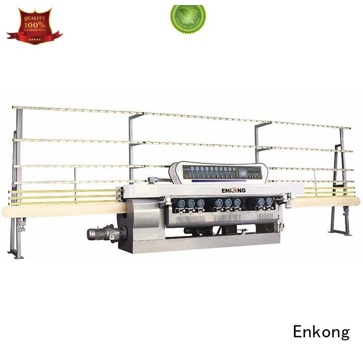 Quality Enkong Brand glass beveling equipment straight line glass