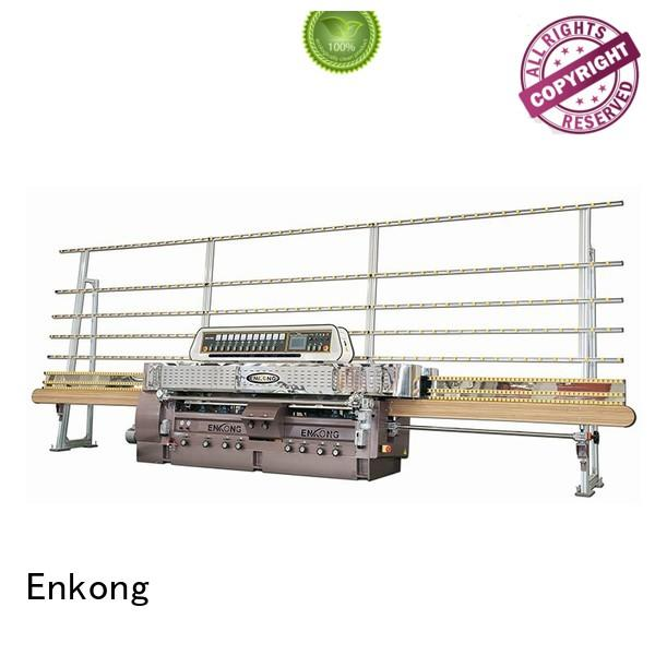 glass straight line edging machine machine glass Enkong Brand glass machinery