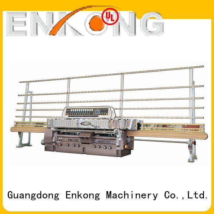 Enkong glass glass straight line edging machine machine