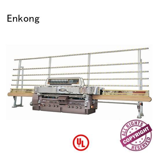 glass glass straight line edging machine straightline machine Enkong Brand