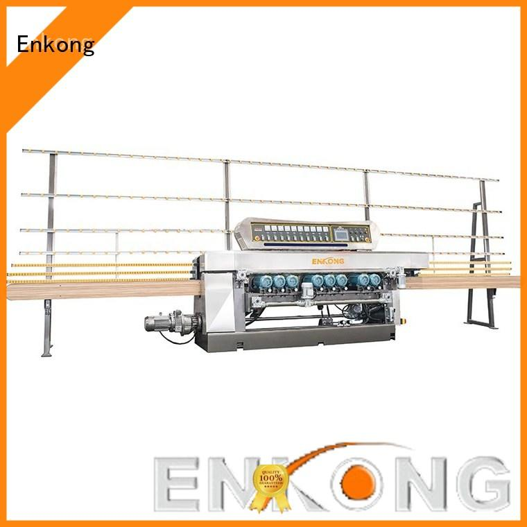 cost-effective glass beveling machine 10 spindles factory direct supply for glass processing